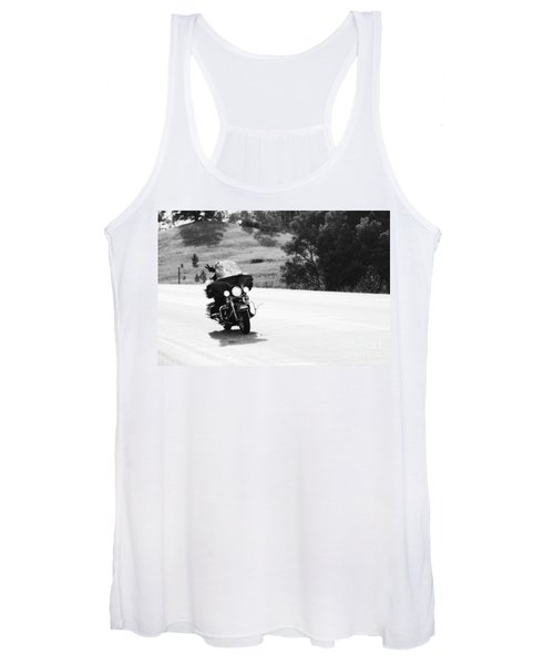 A Peaceful Ride Women's Tank Top