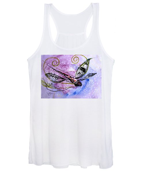 Abstract Dragonfly 6 Women's Tank Top