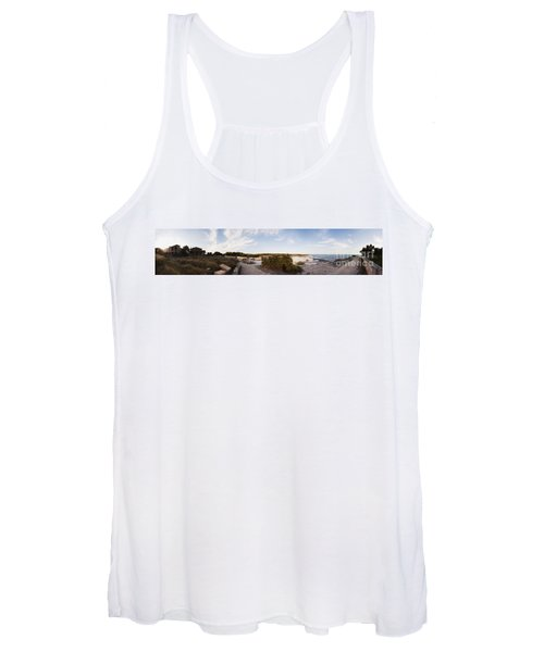 Access To The Beach Of Es Trenc Women's Tank Top