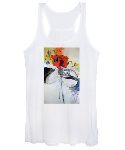 Ace Of Clubs 36-52 Women's Tank Top