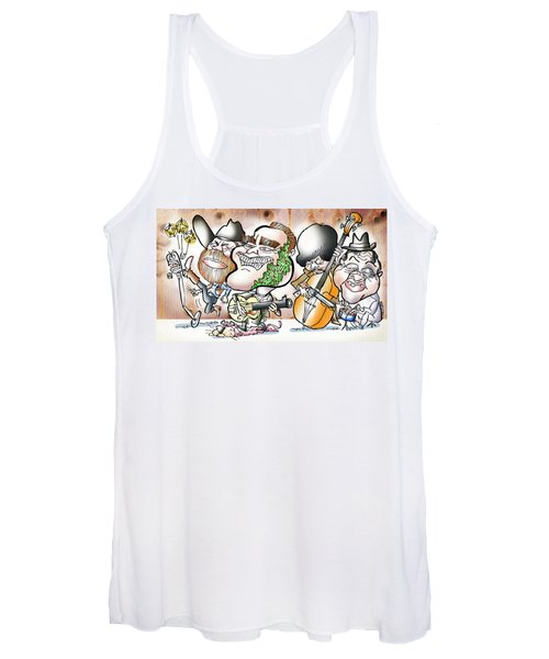 Arnold And The Terminators Women's Tank Top