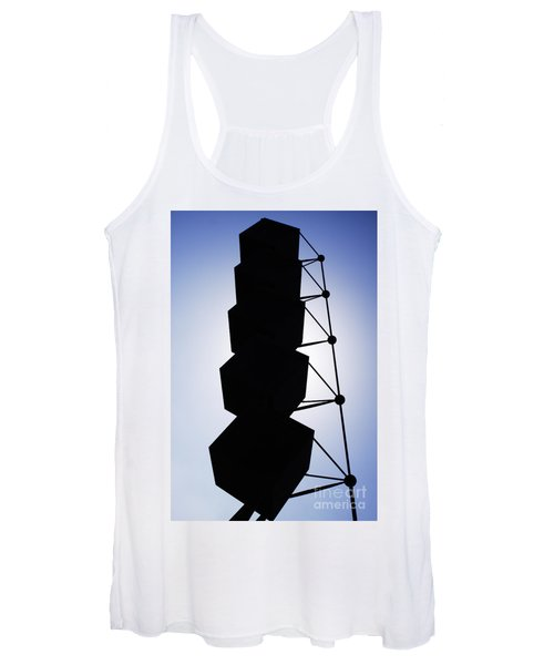 Backlight Structure Women's Tank Top
