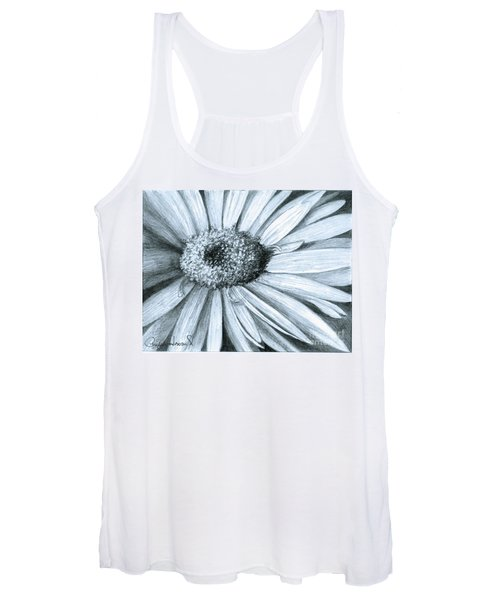 Black White Gerber Women's Tank Top
