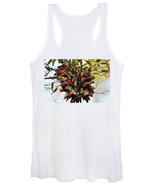 Butterfly Bouquet Women's Tank Top
