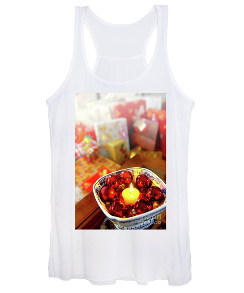 Candle And Balls Women's Tank Top
