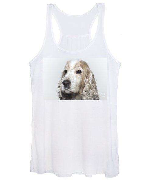 Cocker Spaniel Dog Women's Tank Top