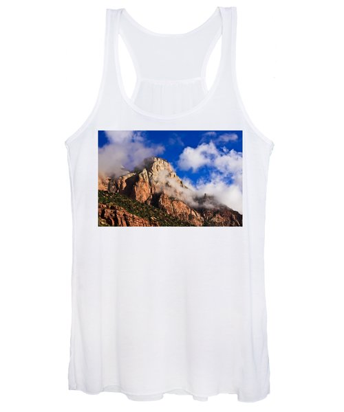 Early Morning Zion National Park Women's Tank Top