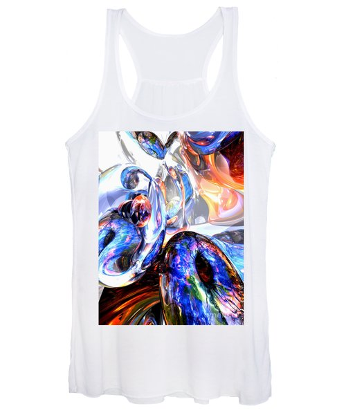 Essence Of Inspiration Abstract Women's Tank Top