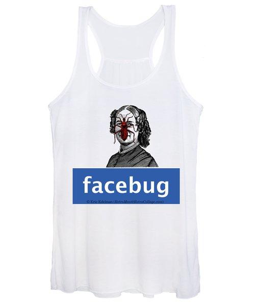 Facebug For Women Women's Tank Top