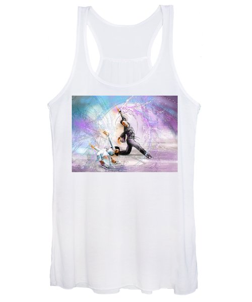 Figure Skating 02 Women's Tank Top
