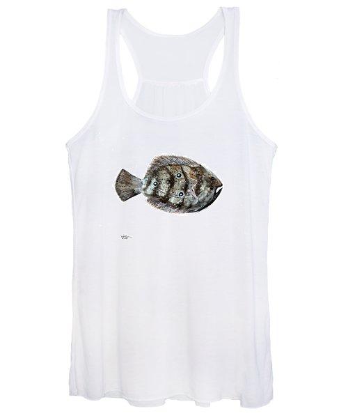 Gulf Flounder Women's Tank Top