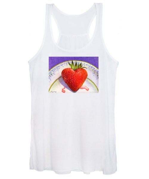 I Love You Berry Much Women's Tank Top