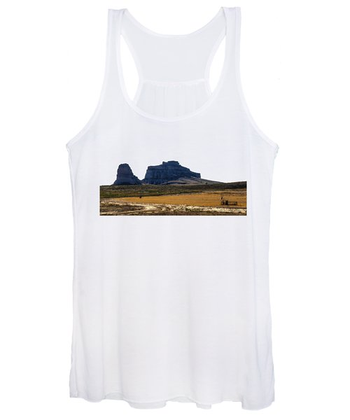 Jailhouse Rock And Courthouse Rock Women's Tank Top