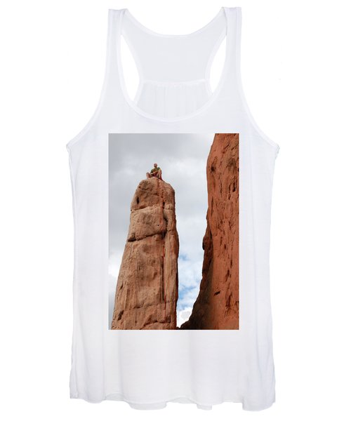 Lunch In The Mountains Women's Tank Top