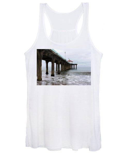 Manhattan Beach Pier Women's Tank Top