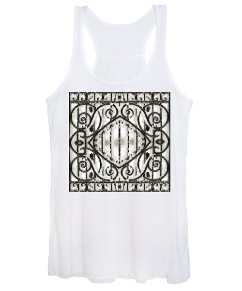 Snowy Forms Women's Tank Top