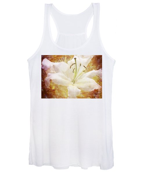 Sparkling Lily Women's Tank Top