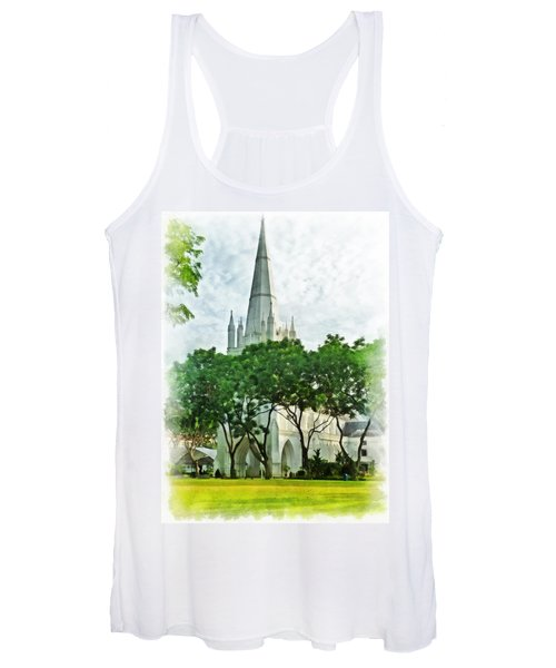 St Andrew's Cathedral Women's Tank Top