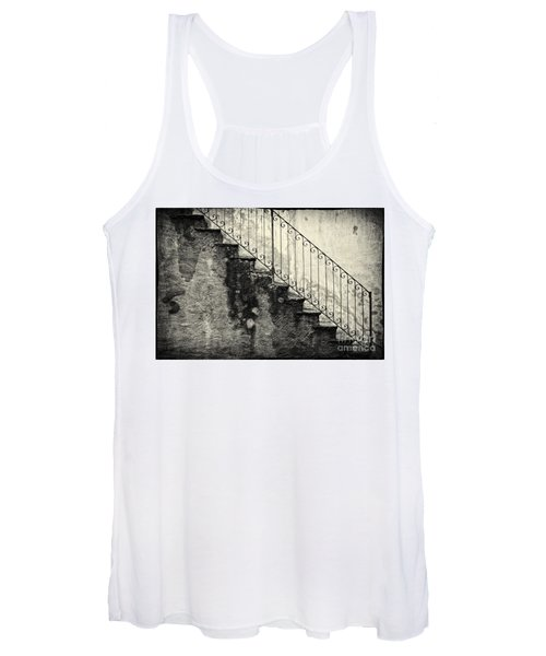 Stairs On A Rainy Day Women's Tank Top