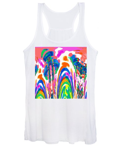The Colors Fountain Women's Tank Top
