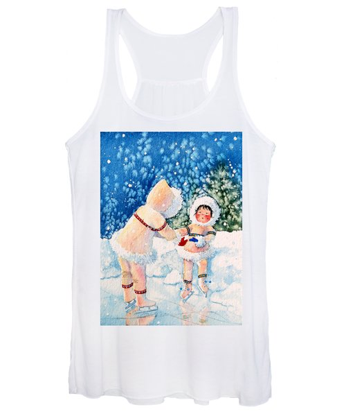 The Figure Skater 2 Women's Tank Top