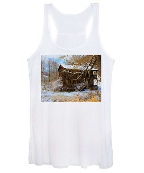 West Virginia Winter Women's Tank Top