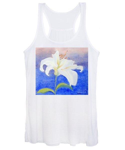 White Lily Women's Tank Top