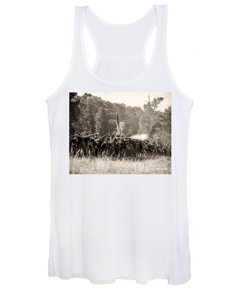 Gettysburg Union Infantry 9372s Women's Tank Top