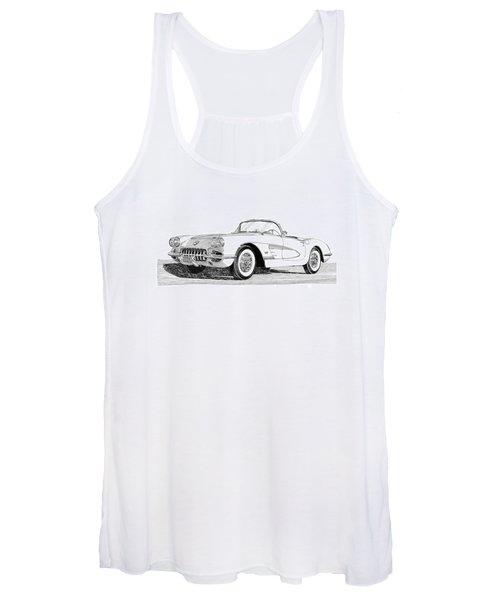 1960 Corvette Women's Tank Top