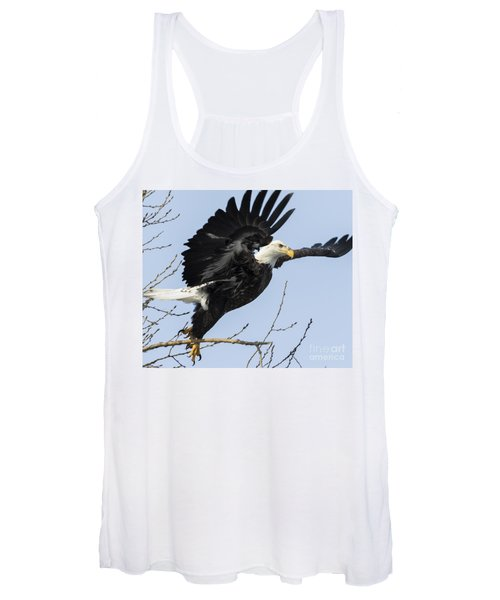 American Bald Eagle Women's Tank Top