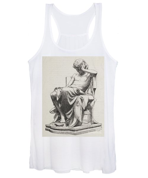 Aristotle, Ancient Greek Philosopher Women's Tank Top