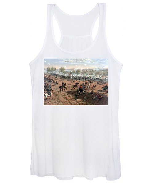 Battle Of Gettysburg Women's Tank Top