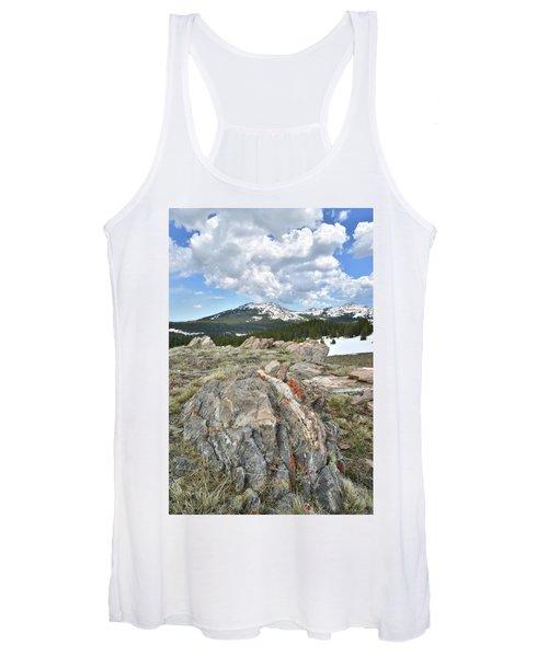 Big Horn Pass In Wyoming Women's Tank Top