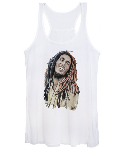 Bob Marley Women's Tank Top