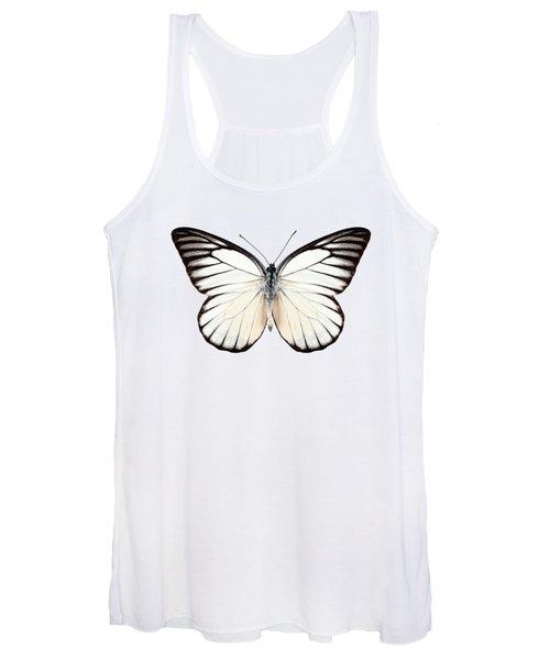Butterfly Species Prioneris Philonome Women's Tank Top