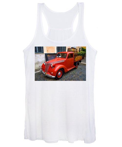 Car Women's Tank Top