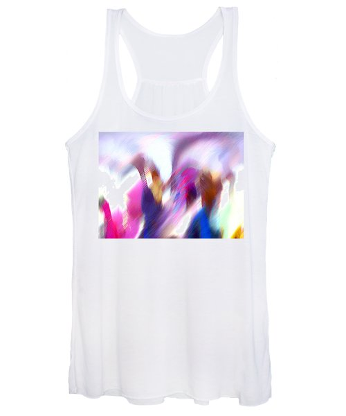 Color Dance Women's Tank Top
