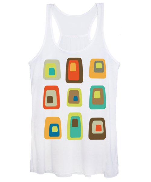 Concentric Oblongs  Women's Tank Top