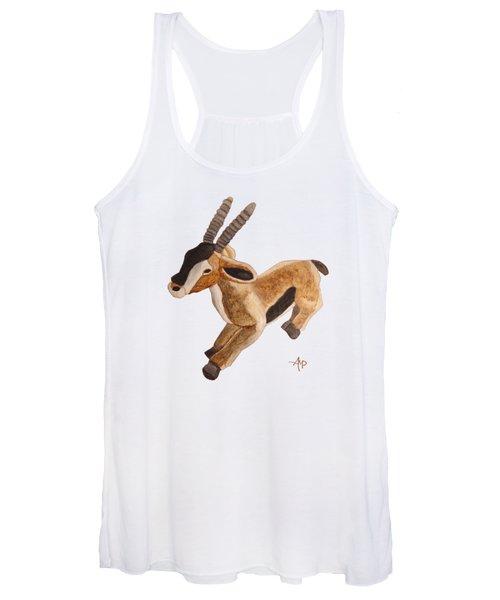 Cuddly Gazelle Women's Tank Top