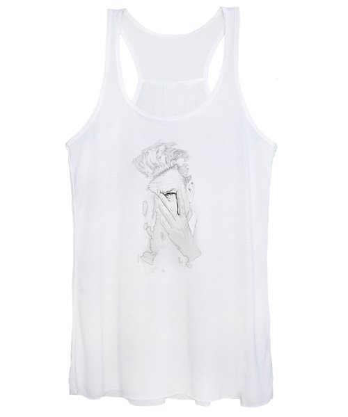 David Lynch Hands Women's Tank Top