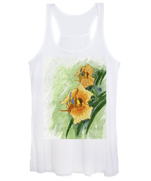 Daylily #2 Women's Tank Top