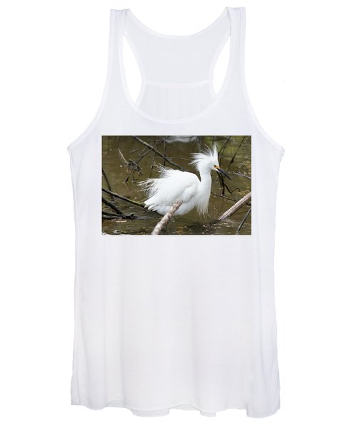 Egret Bath Women's Tank Top
