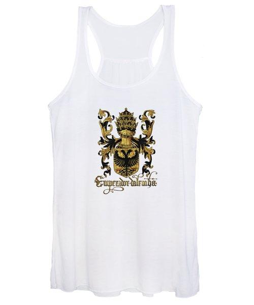 Emperor Of Germany Coat Of Arms - Livro Do Armeiro-mor Women's Tank Top