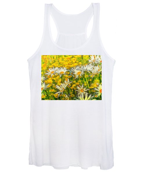 Field Of Daisies Women's Tank Top