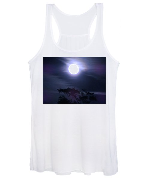 Full Moon Falling Women's Tank Top