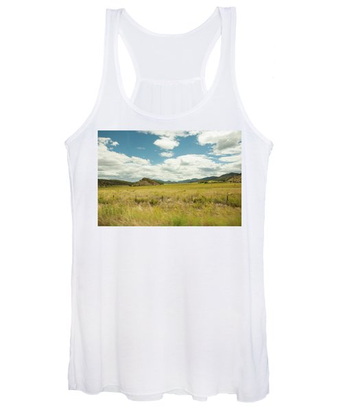 Golden Meadows Women's Tank Top