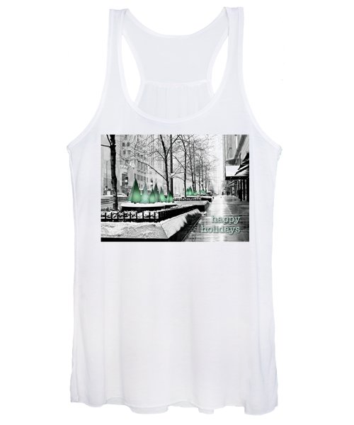 Happy Holidays From Chicago Women's Tank Top