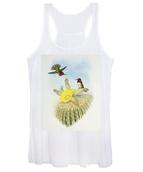 Hummingbirds Women's Tank Top