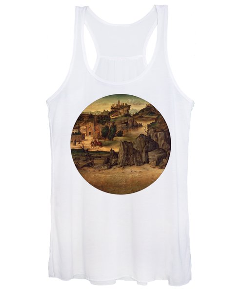 Landscape With Castles Women's Tank Top