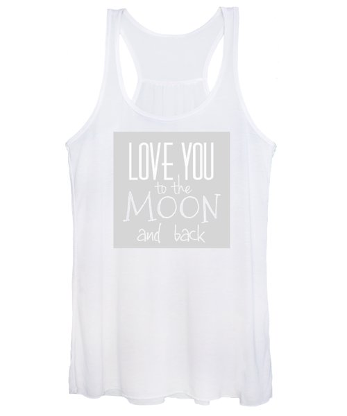 Love You To The Moon And Back Women's Tank Top